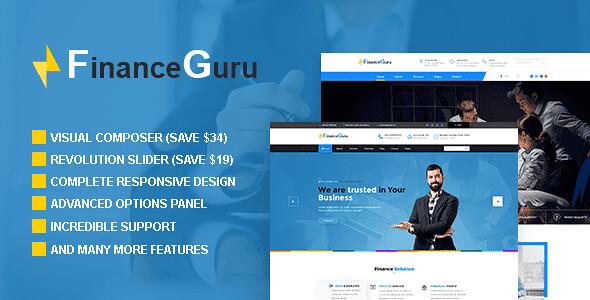 Finance Guru WordPress Theme free download