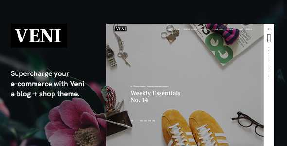 Veni WordPress Theme free download