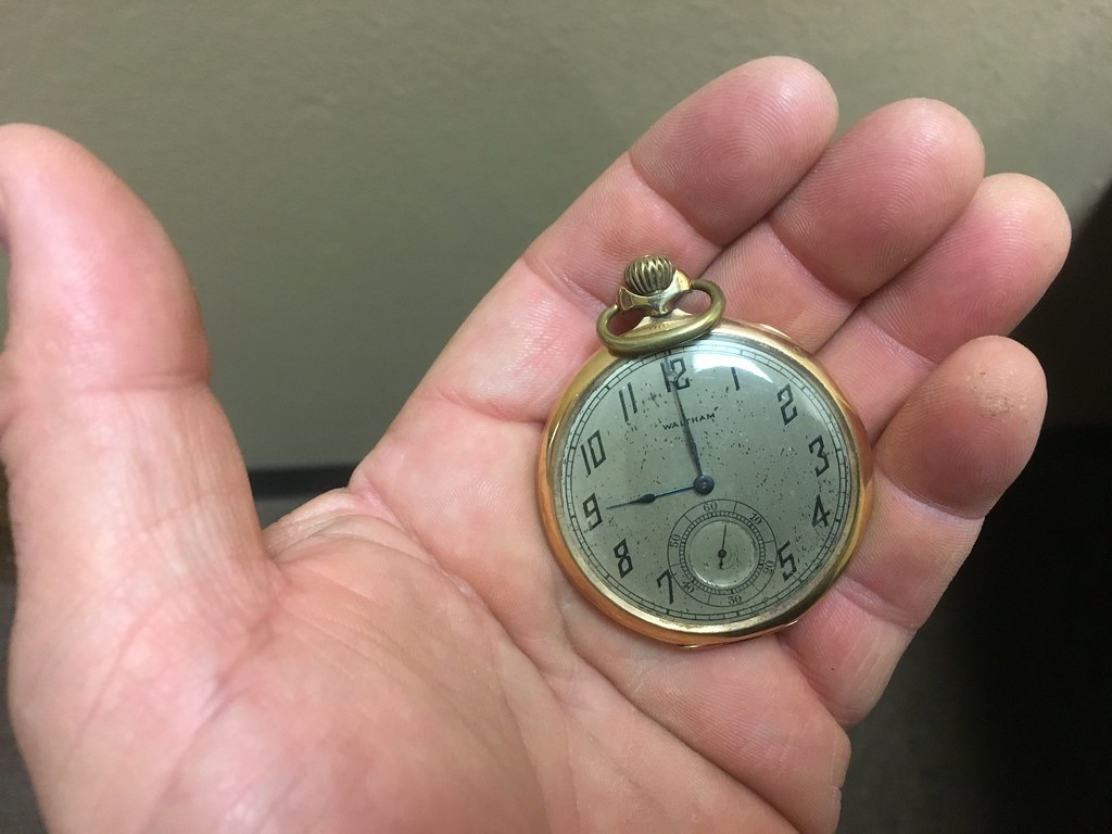 Another Old Pocket Watch