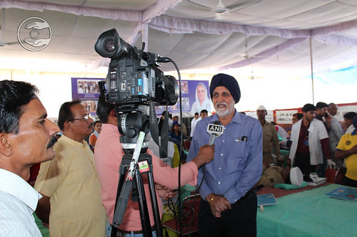 Brig P.S. Cheema, Member Executive Committee, briefing the media