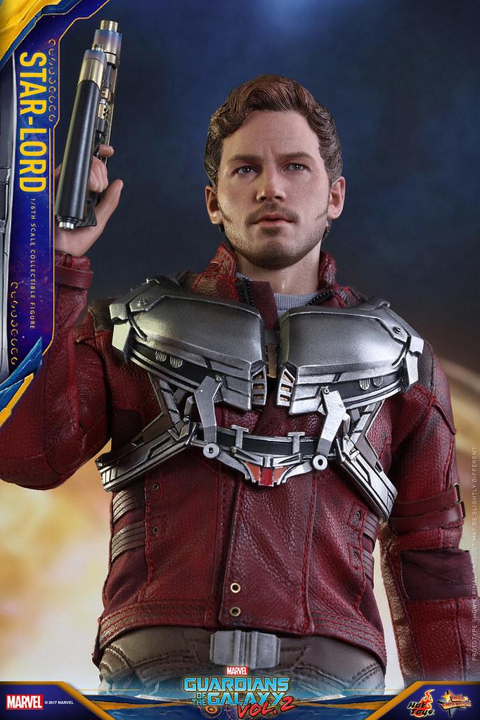 Hot Toys - MMS420《星際異攻隊2》1/6 比例【星爵】彼得·奎爾 Guardians of the Galaxy Vol. 2 Star-Lord Peter Quill
