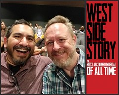 Had a great time taking Tim to the #LaMiradaTheatre for his first time ever seeing #WestSideStory! What a wonderful production!