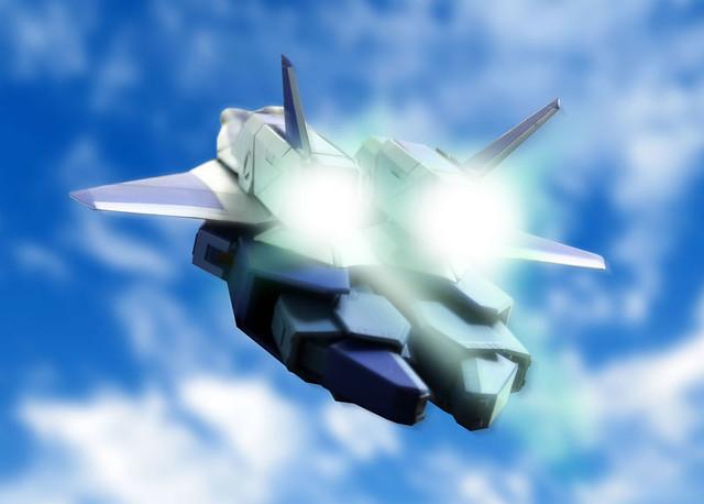 EVOLUTION TOY《太空戰神》火光號Η型!機甲創世記モスピーダ 可変 レギオス エータタイプ