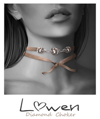 Lowen - Diamond / Crystal Choker