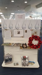 Māori Anzacs display, Songs and quotes of loss and strength