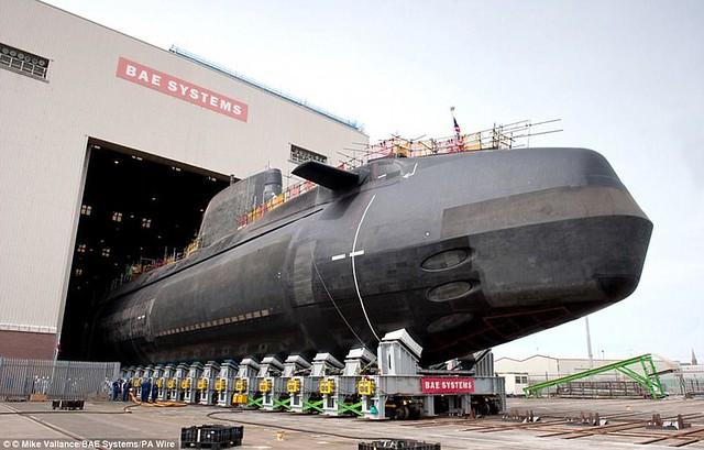 Το υποβρύχιο HMS Artful της ίδιας κλάσης.