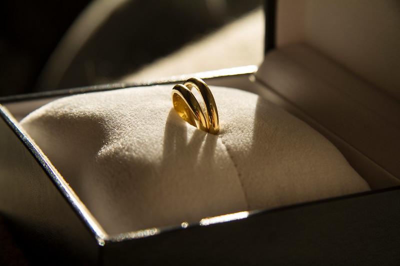 Los anillos al sol