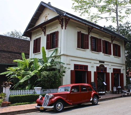 wealthy and old school. Luang Prabang was a pretty town with French colonial architecture