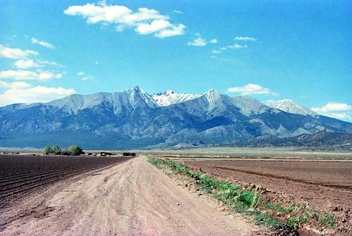 blancapeak filmnegativescan southcentralcolorado canon8800fscanner elevation14345feet4372mmsl