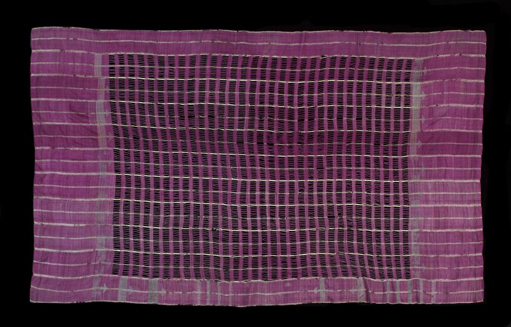 Nigerian mans shawl (C19th)