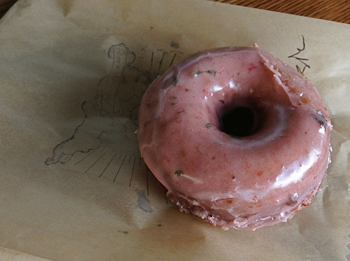 Strawberry Basil Doughnut at Sidecar Doughnut and Coffee (Costa Mesa, CA)