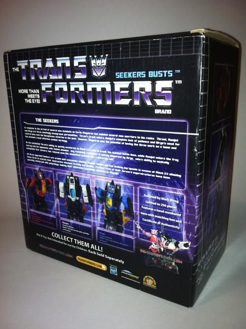 Transformers - Diamond Select Toys - Hasbro - Dirge Bust 8837653557_85c449c314_o