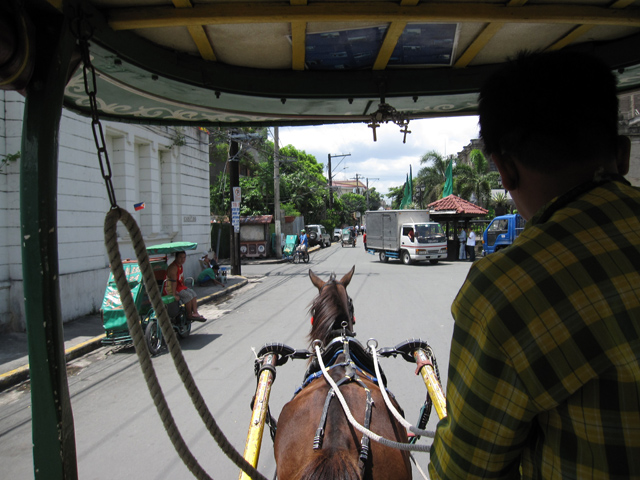 Cruising around Intramuros