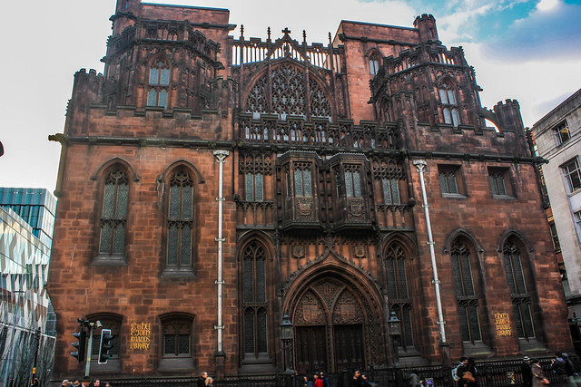 The John Rylands Library de Manchester