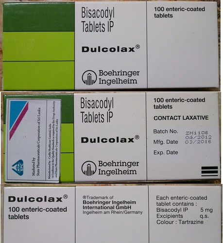 Dulcolax 5mg Laxative 100 Coated Tabets Bisacodyl Stool