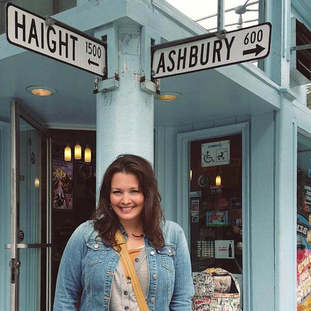 Walking Haight & Ashbury #sanfrancisco