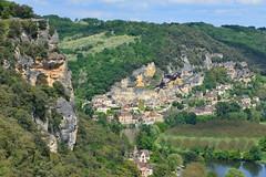 Le Belvédère et la Roque Gagéac