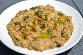Spicy and Chunky Baba Ghanoush