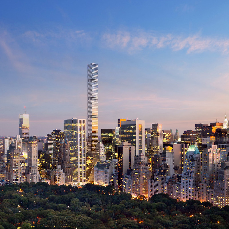 432PA_SE View from Central Park at dusk_copyright dbox for CIM Group & Macklowe Properties.jpg