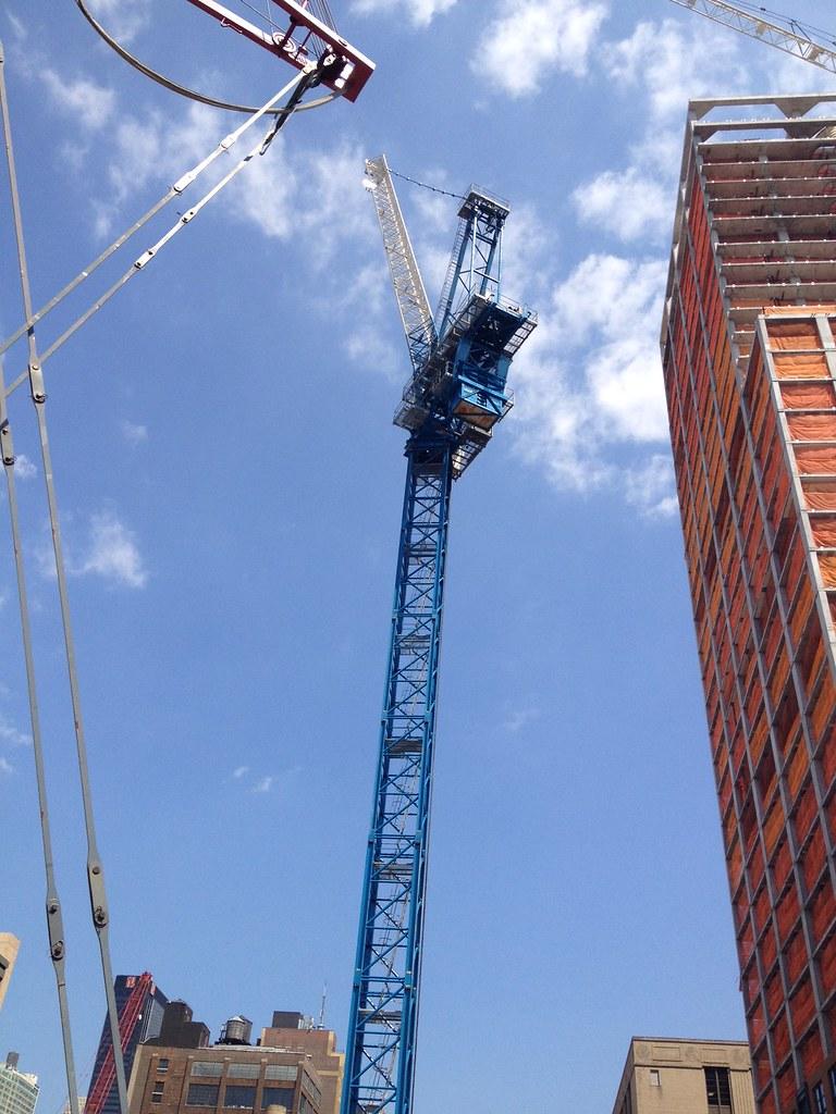 Tower Crane New York : New york hudson yards coach tower m ft