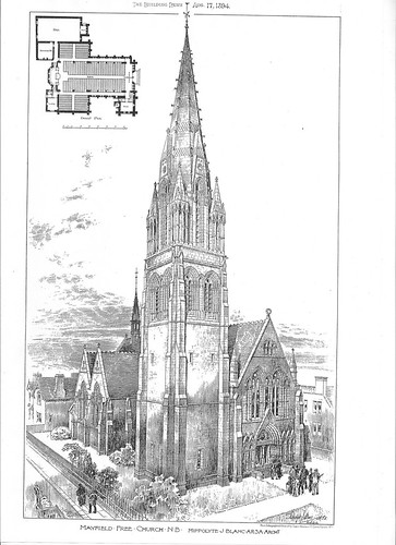 Mayfield Salisbury Church - late nineteenth century