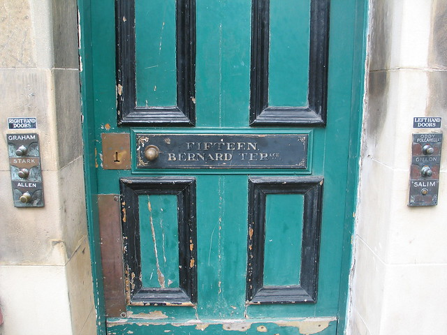 Super cool old door, Newington