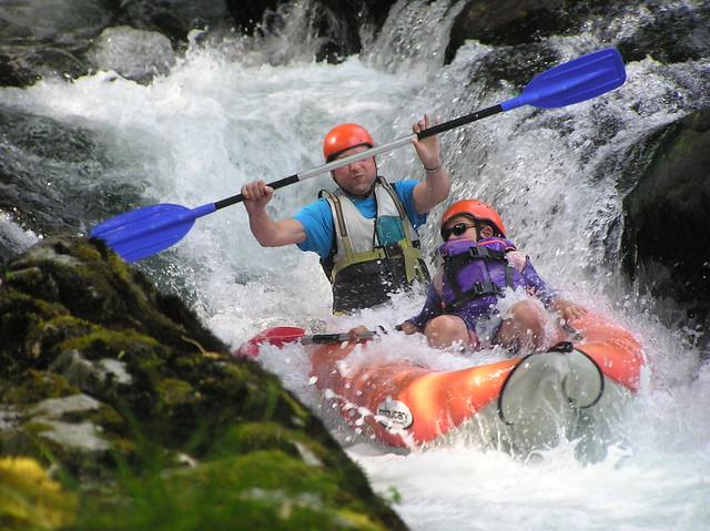 Kayaking river Kupa