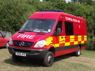 South Yorkshire Fire & Rescue Service Mercedes Sprinter Technical Rescue Unit
