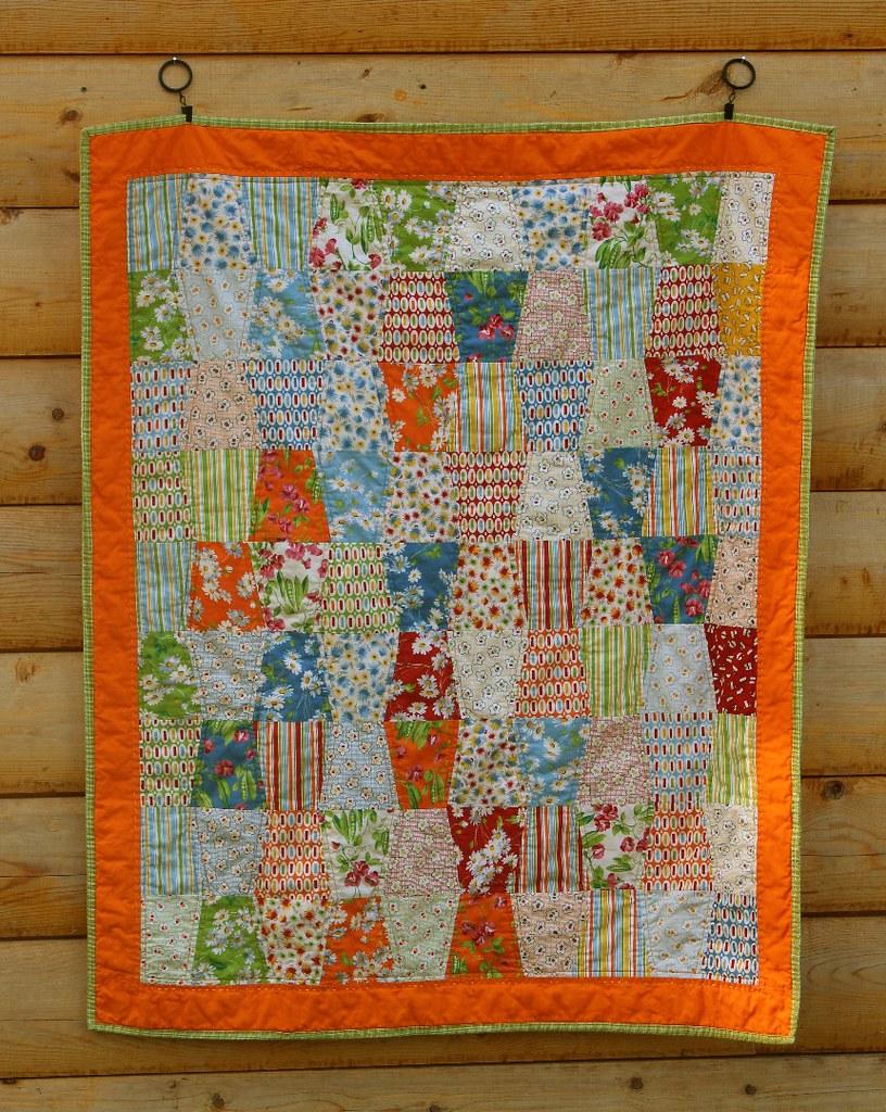 American Jane Tumbler Quilt 2