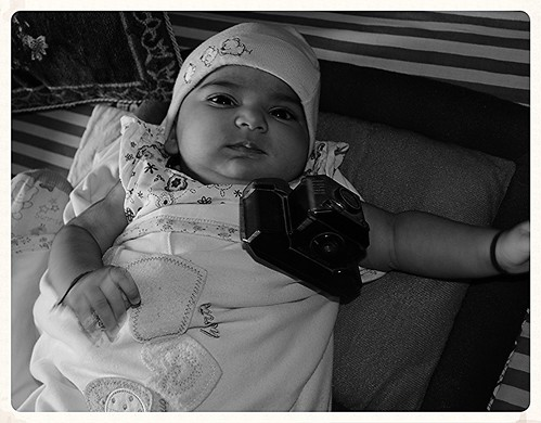 Nerjis Asif Shakir 2 Month Old ,,, Born With A Camera by firoze shakir photographerno1