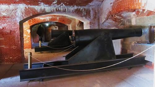 Fort Delaware, Gun Galleries