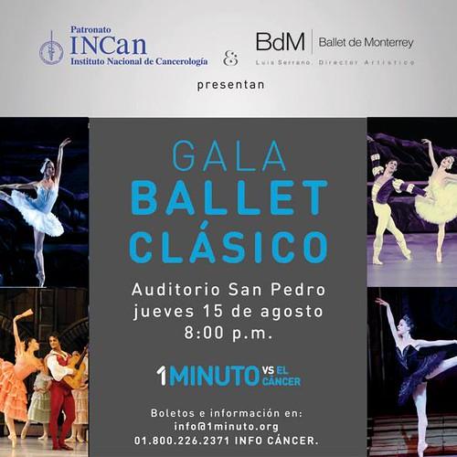 """Ballet de Monterrey participa en """"1 Minuto vs el Cáncer"""""""