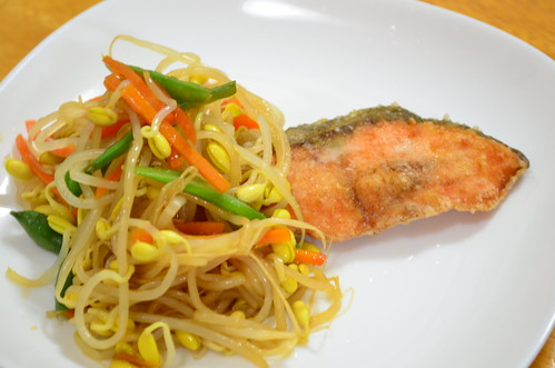 Kit Oisix (キット オイシックス)鮭のしゃきしゃき野菜あんかけ