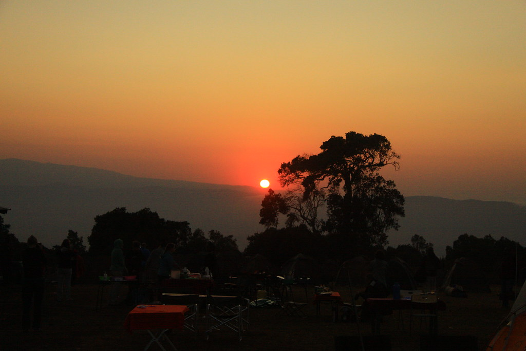 Camping on Ngorongoro