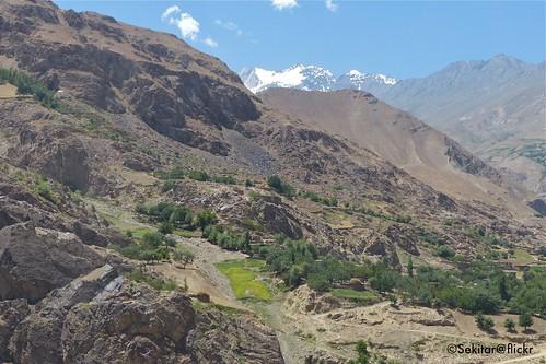 mountain landscape highway view afghan tajikistan centralasia pamir pemandangan tadschikistan pamirhighway gornobadakhshan earthasia kuhistonibadakhshon