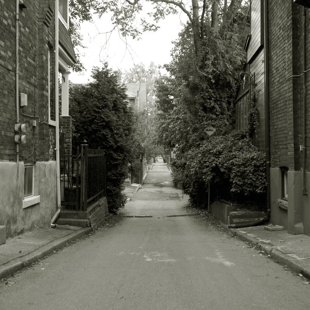 Alleyway in Roncesvalles Village
