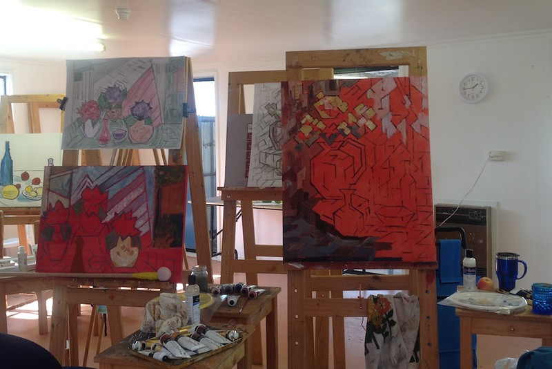 Still Life - a view in our studio