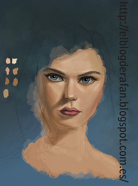 learning to paint with photoshop