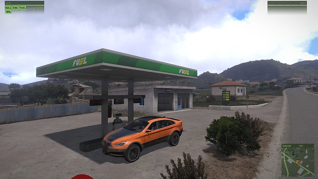 Getting some gas