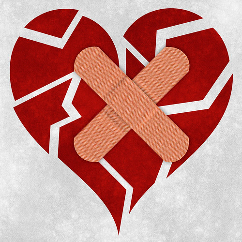 Photo:Mending a Broken Heart By:Free Grunge Textures - www.freestock.ca