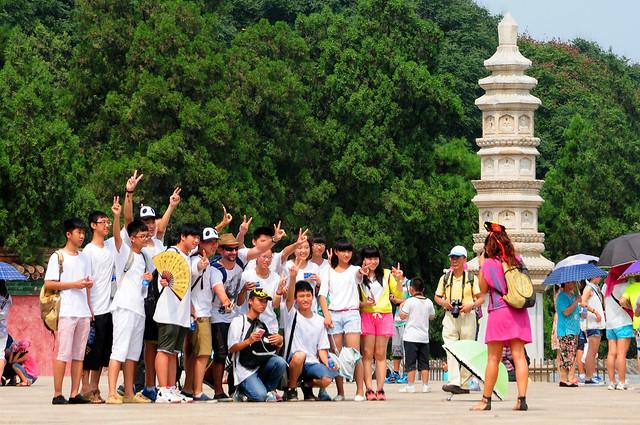 Fotos entre chinos