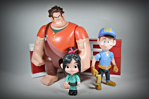 Ralph, Vanellope & Felix