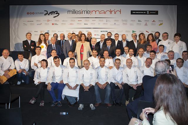 Foto de familia Millesime madrid 2013