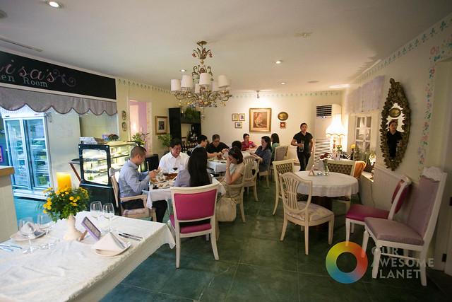 Makati Garden Club Restaurant Menu