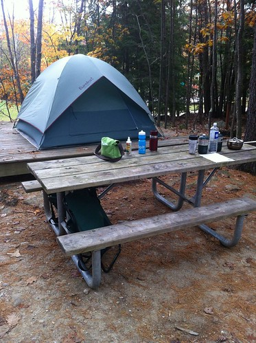 Camping at Mt. Monadnock State Park