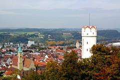 Ravensburg - Blick über Stadtkirche und »Mehlsack« auf die Stadt