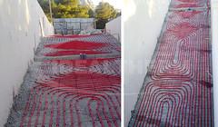 Σύστημα Ενδοδαπέδιας Θέρμανσης Ράγας Στήριξης REHAU-RAUFIX σε κατοικία στους Θρακομακεδόνες