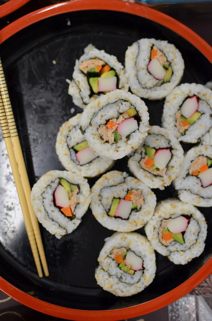Aaah sushi!