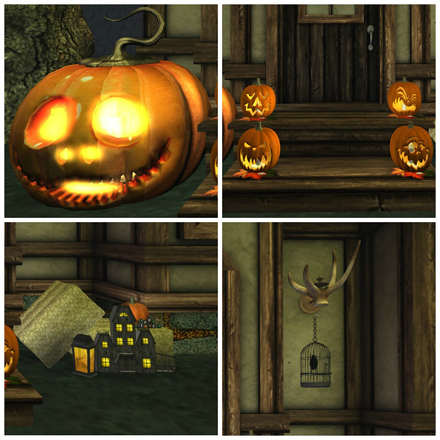 Halloween Cottage: Details