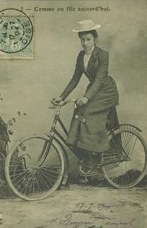 Annie Londonderry Cohen Kopchovsky (1870-1947)